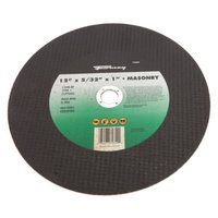 Forney 72354 Chop Saw Blade Type 1 High Speed Masonry with 20-Millimeter Arbor C24R-BF 12-Inch-by-5/