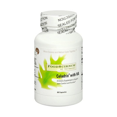 FoodScience of Vermont Celadrin with HA Dietary Supplement Capsules