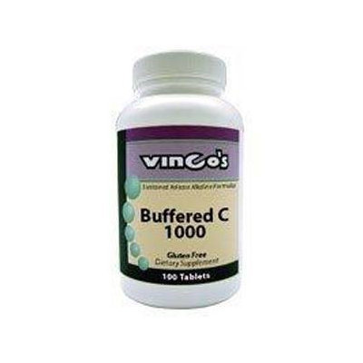 Vitamin C Buffered 1000 mg 100 tabs by Vinco