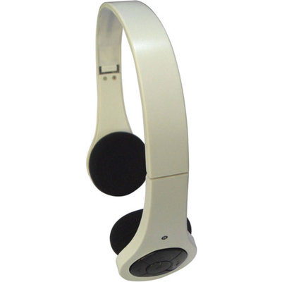 Inland Bluetooth Foldable Headset, White