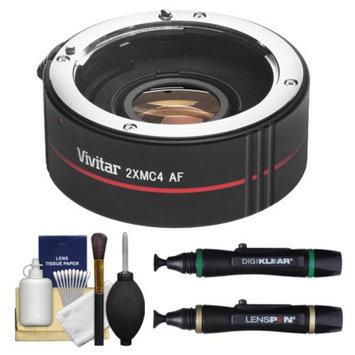 Vivitar Series 1 2x Teleconverter (4 Elements) Kit + Lenspens + Cleaning Kit for Canon EF Lenses & Digital SLR Cameras