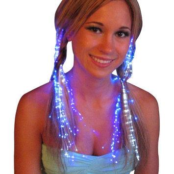 Luminence Llc (Set of 5) Fiber Optics Hair Lights: Clusters of Light Strands Flash Glow