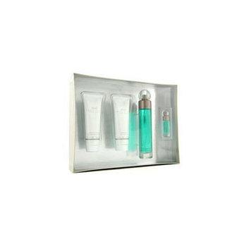 Perry Ellis 360 Coffret: Edt Spray 100Ml/3. 4Oz+ After Shave Balm 90Ml/3Oz+ Shower Gel 90Ml/3Oz+ Edt Spray 7. 5Ml/0. 25Oz - 4Pcs