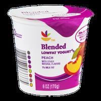 Ahold Blended Lowfat Yogurt Peach