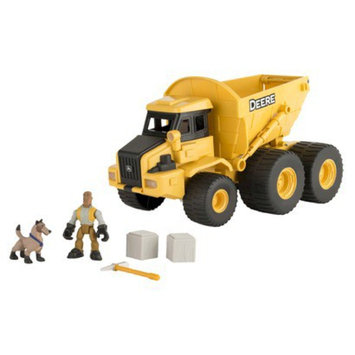 Tomy John Deere Gear Force Dump Truck Playset
