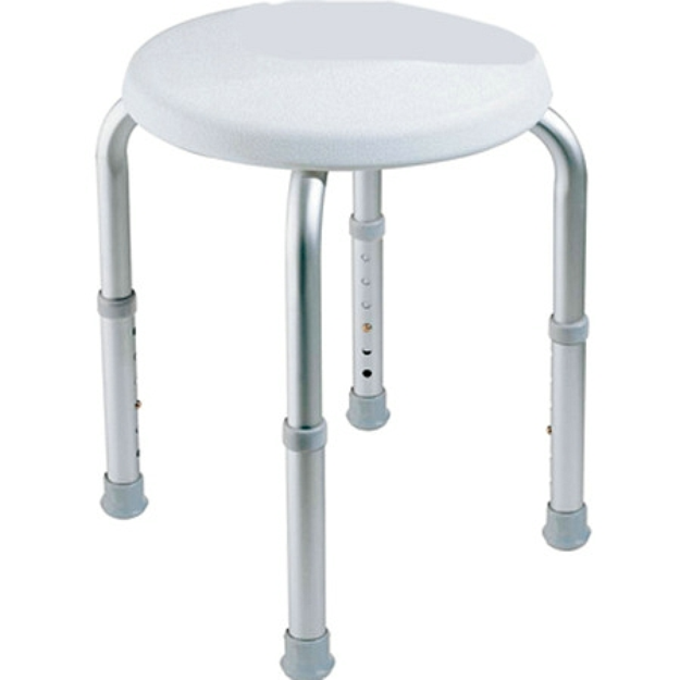Carex Round Shower Stool