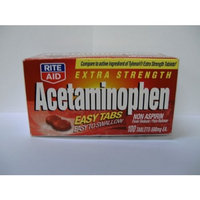 Rite Aid Brand Rite Aid Acetaminophen, EZ tab 100 ea