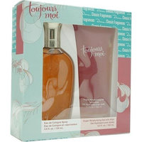 Toujours Moi By Dana For Women. Set-cologne Spray 4 Ounces & Moisturizing Gel 6 Ounces