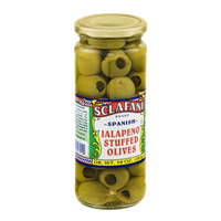 Sclafani Jalapeno Stuffed Olives Spanish
