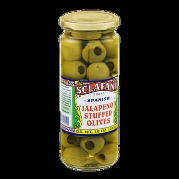 Sclafani Jalapeno Stuffed Olives Spanish