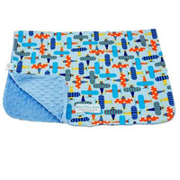 Blue Baby Bum Planes Blanket