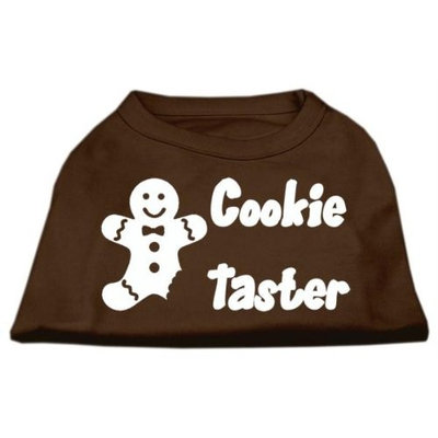 Mirage Pet Products 51-25-01 XLBR Cookie Taster Screen Print Shirts Brown XL - 16