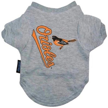 Hunter Manufacturing Hunter MfgBaltimore Orioles Dog Tee Shirt - Small