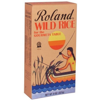 Roland Wild Rice, 8-Ounce Boxes (Pack of 4)