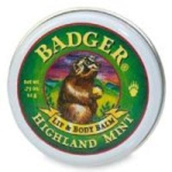 Badger Lip & Body Balm Tin - Highland Mint