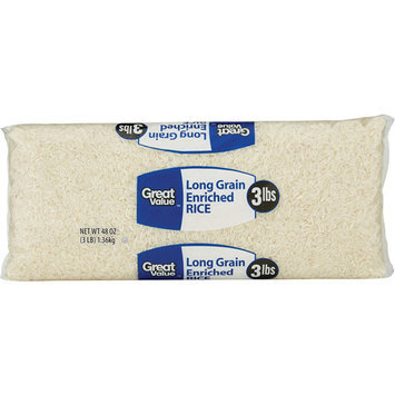 Great Value Long Grain Enriched Rice, 48 oz