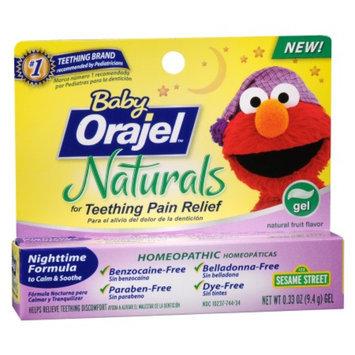 Baby Orajel Naturals Gel Teething Treatment 0.33oz