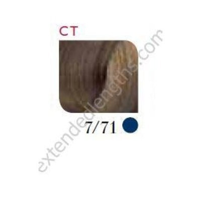 Wella Koleston Perfect Permanent Creme Haircolor 1:1 7/71 Medium Blonde/Brown Ash