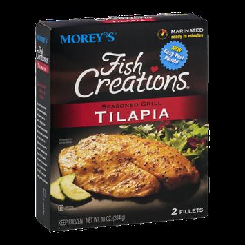 Morey's Fish Creations Tilapia Seasoned Grill - 2 CT