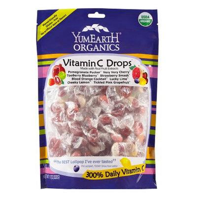 Yummy Earth Organic Drops with Vitamin C Large Family Bag, 13 oz