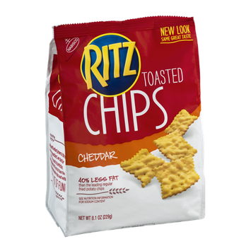 Ritz Toasted Chips Cheddar Flavor