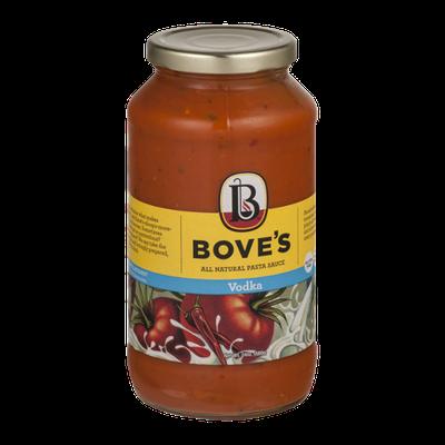 Bove's All Natural Pasta Sauce Vodka