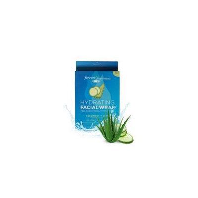 My Spa Life Cucumber Plus Aloe Hydrating Facial Pellcule Facial Wraps - Total 6 Treatment, 2 Pack Of 3