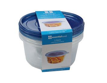Shye U.s.a. Essential Home 3PK Round Large Storage