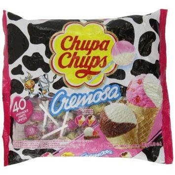 Chupa Chups Lollipops - Ice-cream Flavor (40ct. Bag) Fat Free!
