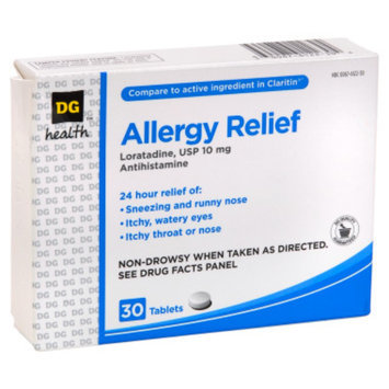 DG Health Allergy Relief Tablets - 30 ct