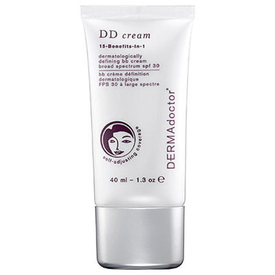DERMAdoctor DD cream dermatologically defining bb cream broad spectrum spf 30, 1.3 oz