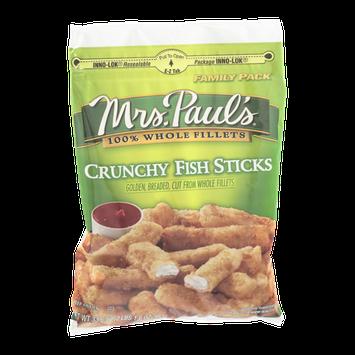 Mrs. Paul's Crunchy Fish Sticks Family Pack