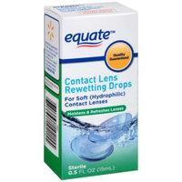 Equate Contact Lens Rewetting Eye Drops, 0.5 fl oz