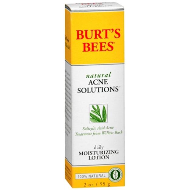 Burt's Bees Acne Daily Moisturizing Lotion
