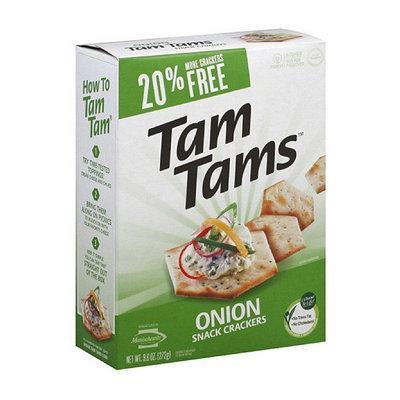 Manischewitz Tam Tams Onion Snack Crackers