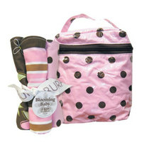Trend Lab 5 Pc. Burp Cloths and Bottle Bag Set - Maya by Lab