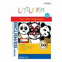 Little Pim English/ESL English subtitles 3-Pak Vol. I