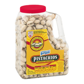 Keenan Farms Naturally Tree Opened Pistachios Roasted with Sea Salt