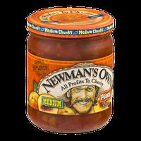 Newman's Own Medium Peach Salsa