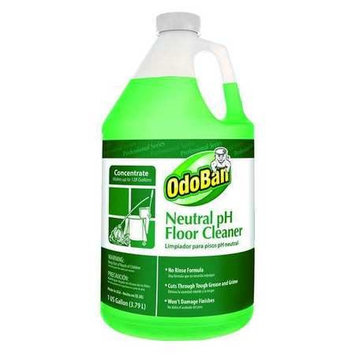 ODOBAN 936162-G Neutral pH Floor Cleaner,1 gal, PK4