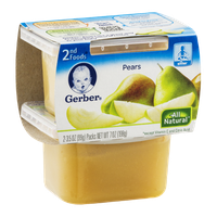 Gerber 2nd Foods Pears - 2 CT