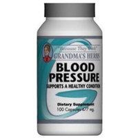 Grandma's Herbs Blood Pressure - Herbal Remedy for High Blood Pressure - 100 Capsules