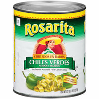 Rosarita Diced Green Chiles
