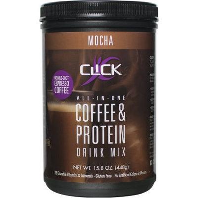 Clickco Llc Click Mocha Espresso Protein Drink Mix, 15.8 oz