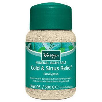Kneipp Eucalyptus Cold & Flu Mineral Bath Salts