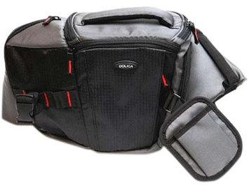 Dolica Professional DSLR/ Mirrorless ILC Sling Bag, Black/Gray