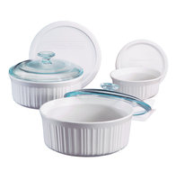 Corningware CorningWare French White 6-pc. Bakeware Bowl Set