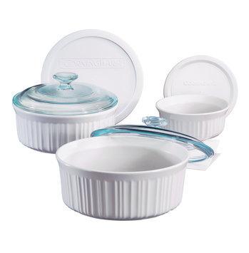 Corningware CorningWare French White 6-pc. Bakeware Bowl Set