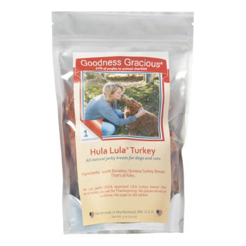 Cherrybrook Goodness Gracious Hula Lula Turkey Jerky Treats 5oz
