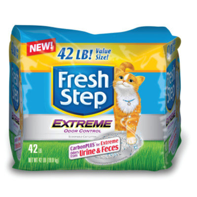 Fresh StepA Extreme Odor Control CarbonPLUS Scoopable Cat Litter